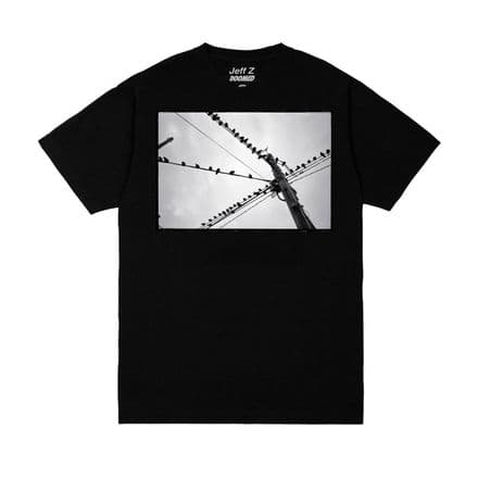Doomed Crossed Wires T-Shirt Black XL